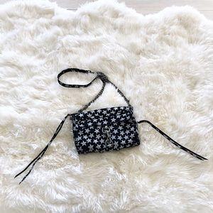 Glitter Star Mini MAC Cross Body Bag